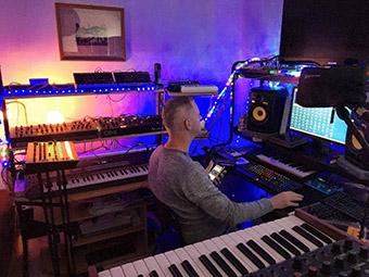 Mike Volt in Fogmountain Studio Hamburg